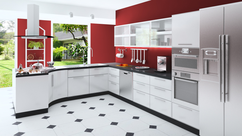 Ideas de diseño de cocinas blancas que funcionan