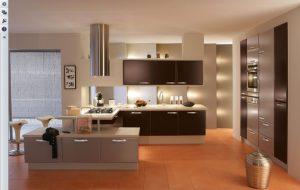 La iluminación en cocinas modernas