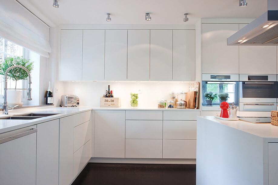 Cocinas blancas puristas cocinas lola rodriguez - Cocinas blancas ...